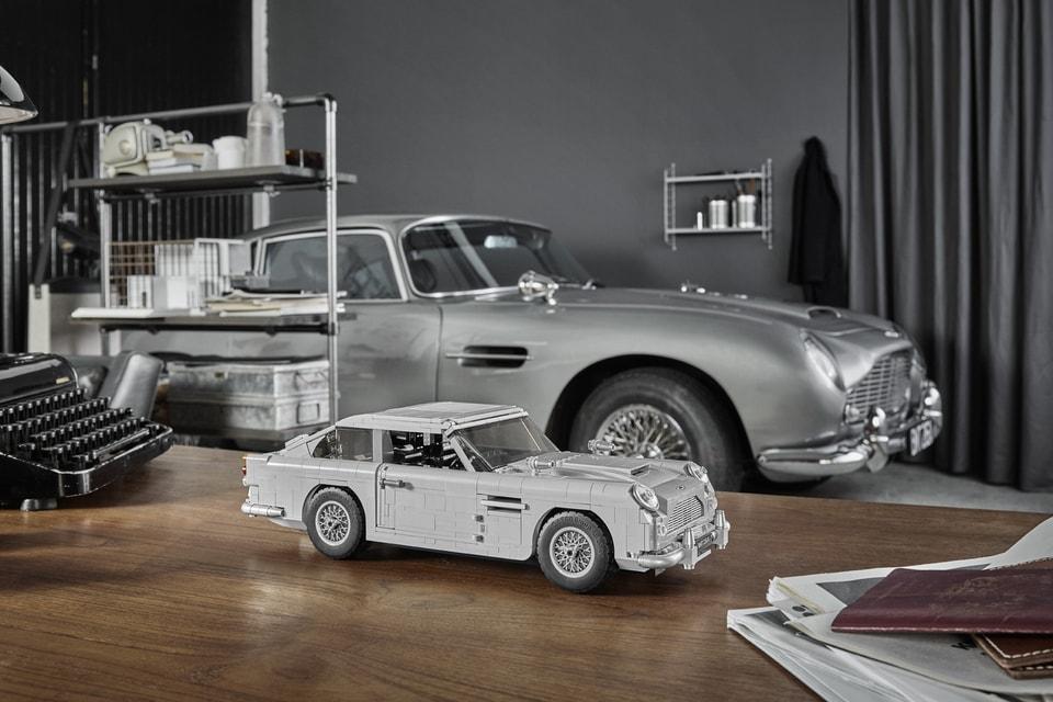LEGO 發佈 James Bond™ Aston Martin DB5 跑車積木模型