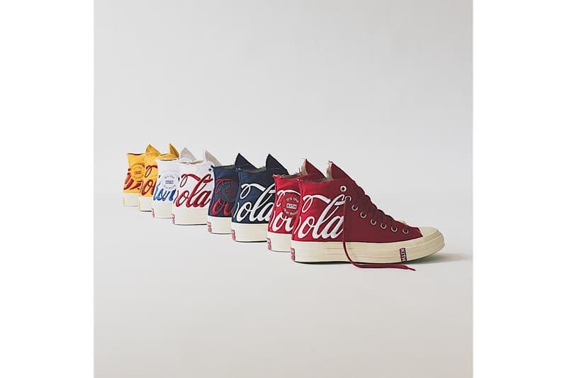 KITH x Coca-Cola x Converse 2018 聯名 Chuck Taylor All Star 1970s 系列全貌公開