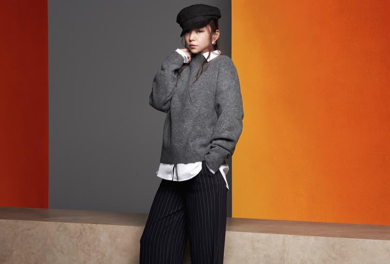 安室奈美惠 x H&M 最終聯名系列 Lookbook 完整揭曉