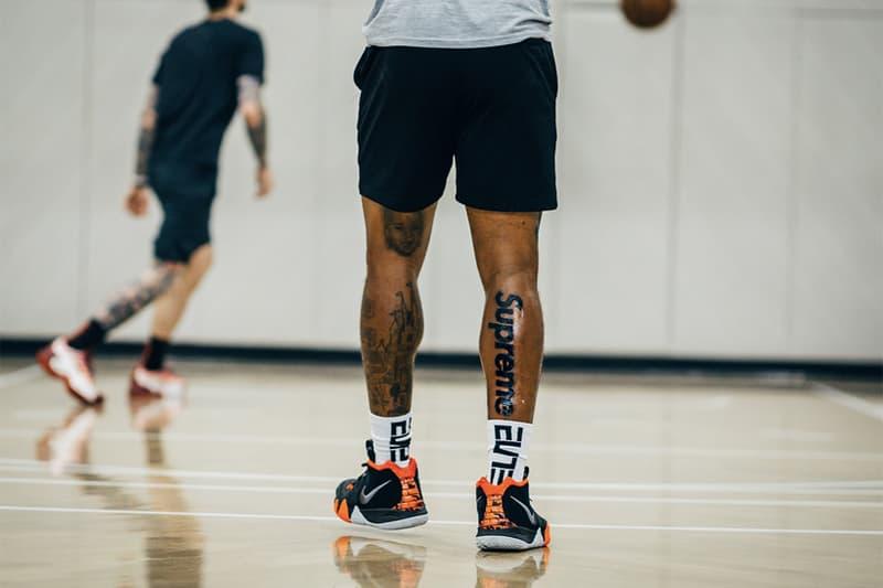 誓死效忠 − NBA 球員 J.R. Smith 竟將「Supreme」刺在腿上!