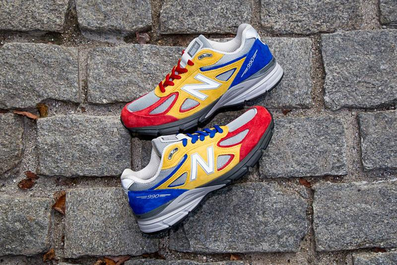 Shoe City x EAT x New Balance 最新聯名 990v4 正式登場