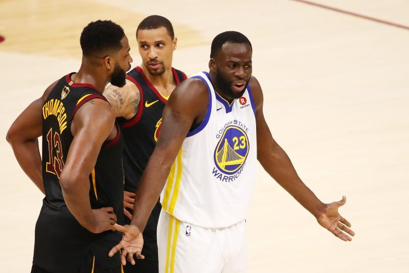 UPDATE: Draymond Green 澄清 Tristan Thompson 夜店出手揮拳的趣聞