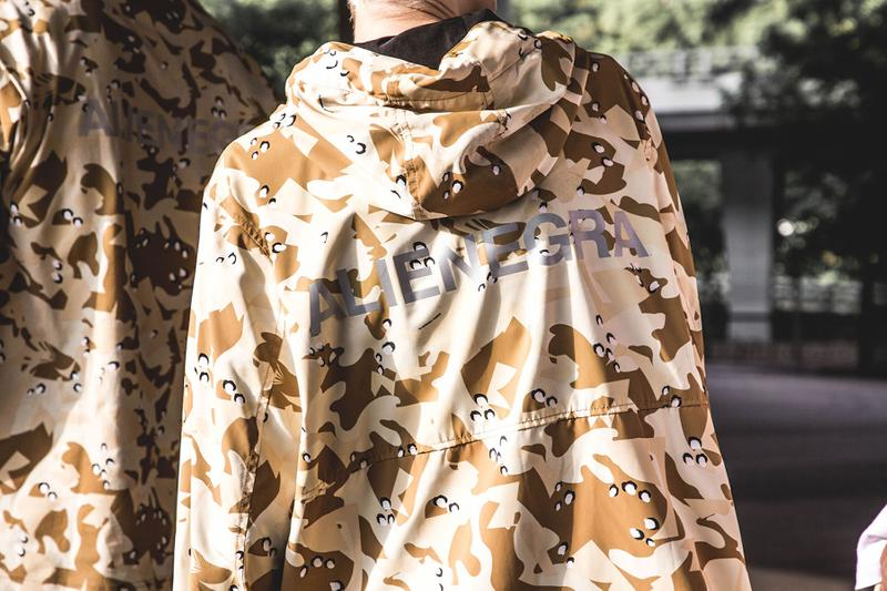 CLOT 最新「Alienegra Desert Camo」系列正式登場