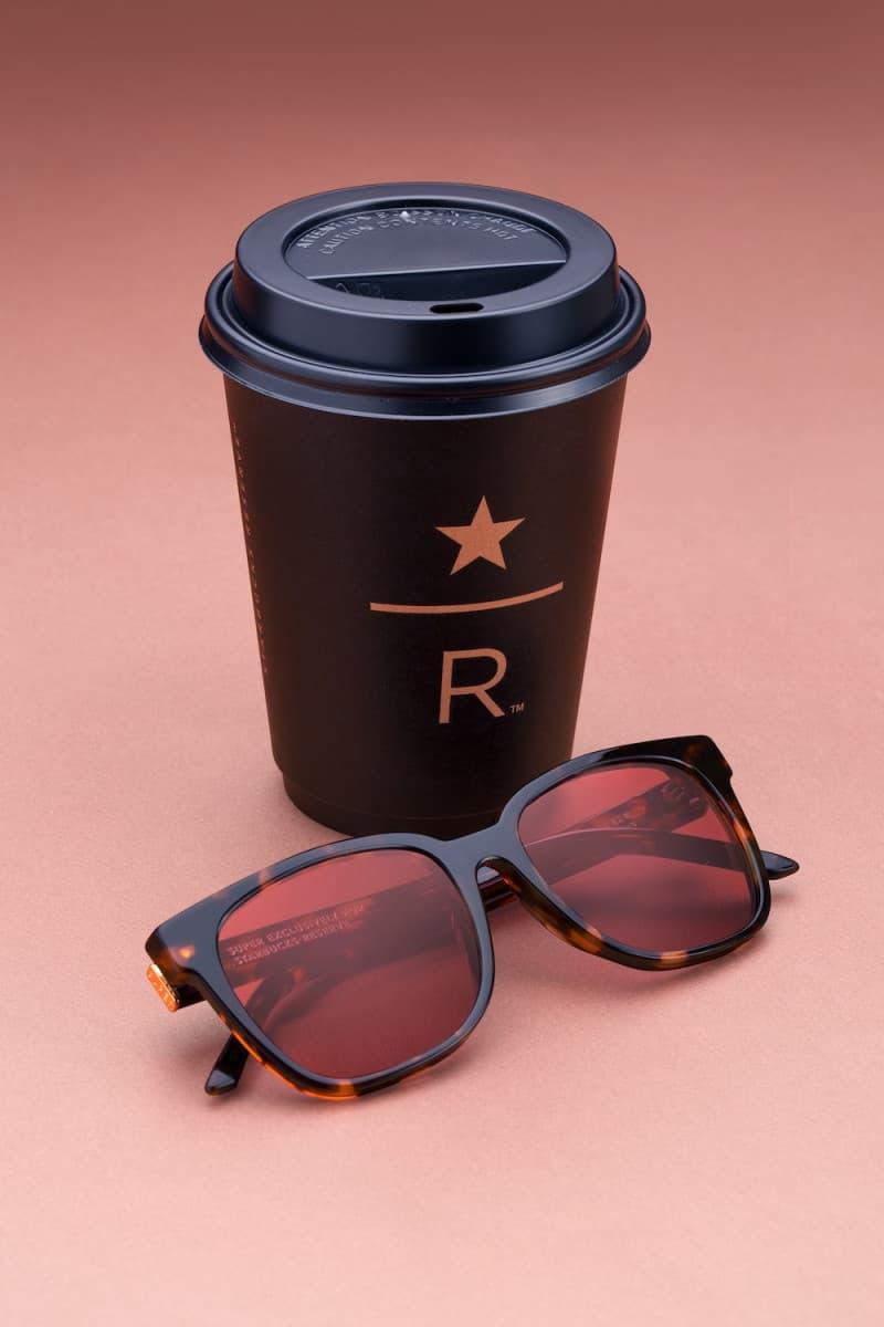 RETROSUPERFUTURE 攜手 Starbucks 打造全新聯名太陽眼鏡系列