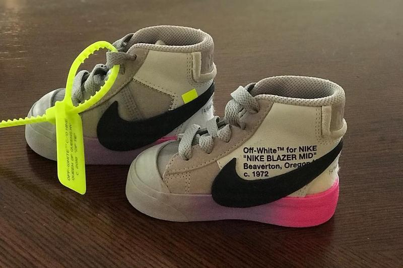 "Serena Williams 分享嬰兒版客製 Off-White™ x Nike Blazer ""QUEEN"""