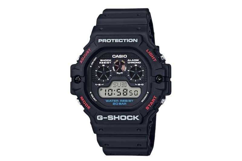G-SHOCK 復刻 90 年代经典 DW-5900 腕表