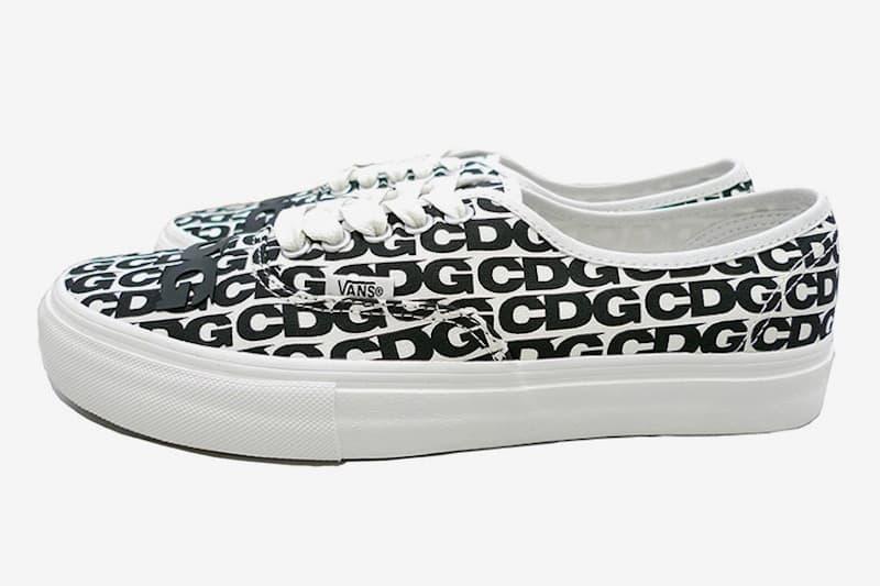 COMME des GARÇONS CDG x Vans 聯名 Authentic 鞋款即將上架