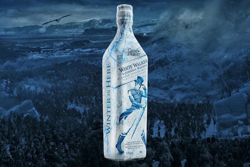 Johnnie Walker 與《Game of Thrones》推出限量版威士忌飲料