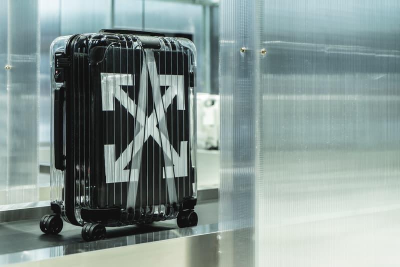 率先走進 Off-White™ x RIMOWA 香港期間限定店