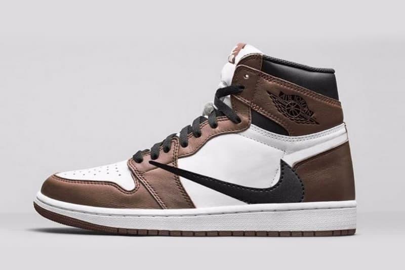 Travis Scott x Air Jordan 1 全新聯名鞋款發售信息曝光