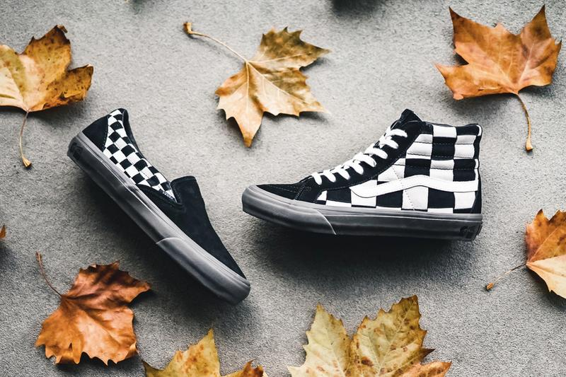 Taka Hayashi x Vans Vault 2018 秋冬全新聯名「Checkerboard」系列上架