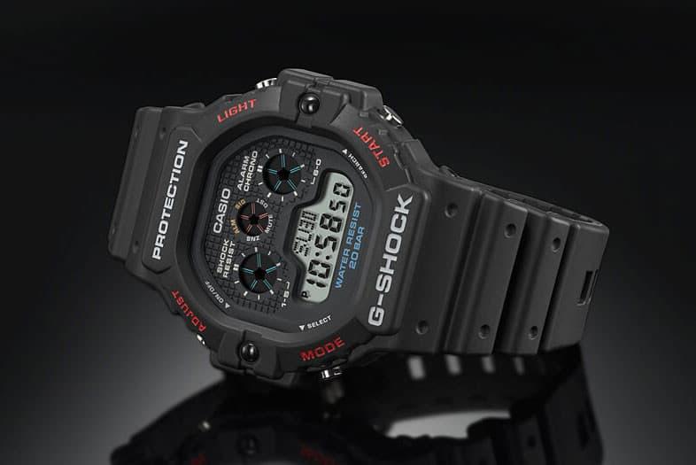 G-SHOCK 經典型號 DW-5900 重新上架