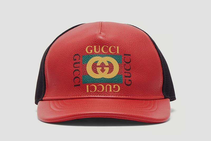Gucci 推出全新復古棒球帽