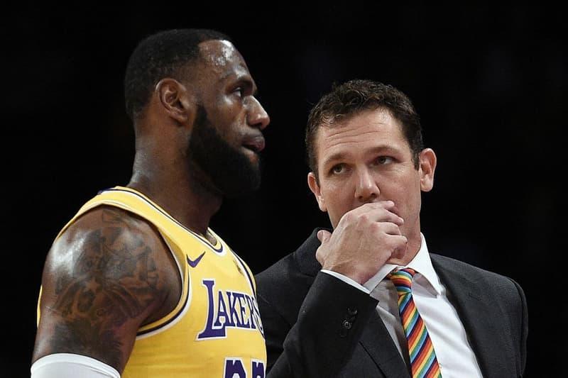 名記者爆料 LeBron James 與 Lakers 總教練 Luke Walton 疑似將帥不合