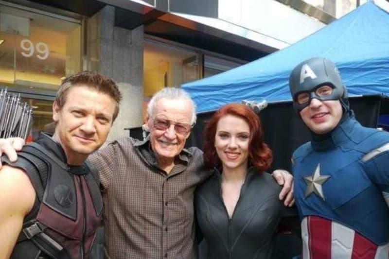 最後致敬-Stan Lee 逝世前已完成客串《Avengers 4》拍攝戲份