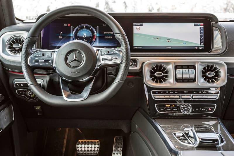 2019 年樣式 Mercedes-Benz G350d 登场