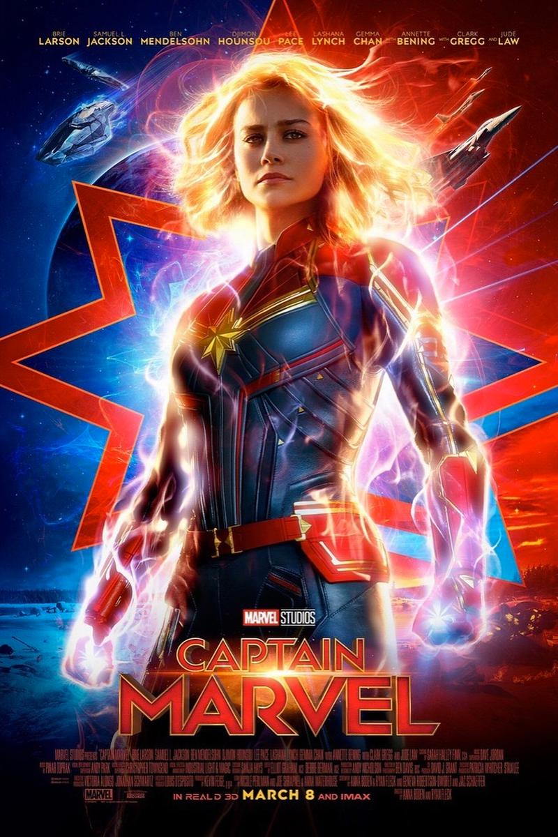 Marvel Studios 發佈《Captain Marvel》全新電影海報
