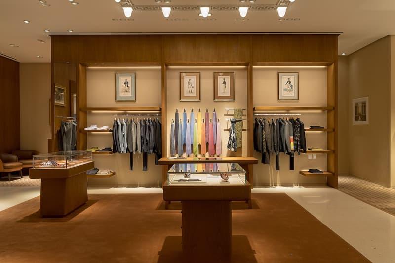Hermès 上海國際金融中心專賣店為拓店揭幕推出別註單品