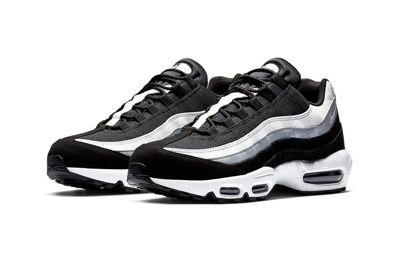 Nike Air Max 95 全新「Black/Wolf Grey/White」配色即將上架