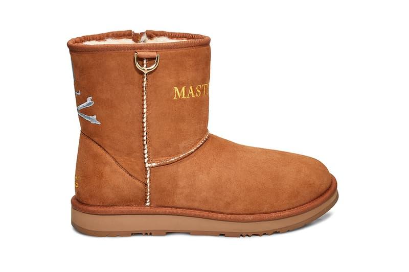 mastermind WORLD x UGG 聯名雪地靴系列即將上架
