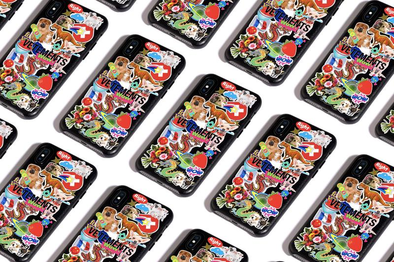 CASETiFY x Vetements 联名別注 iPhone 手機殼系列