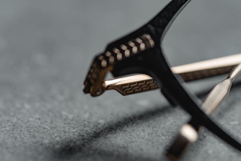 OWDEN x The New Black Optical 聯名皮革金屬鏡架