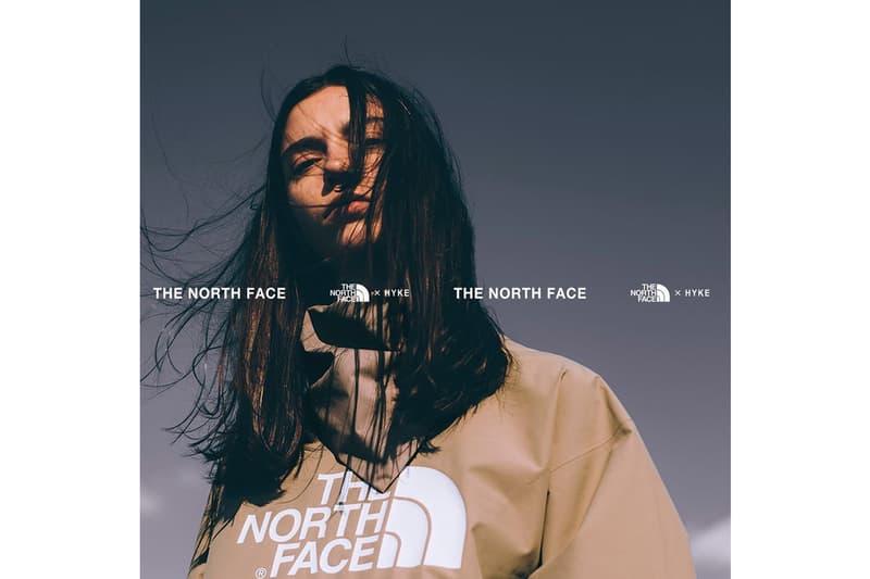 The North Face x HYKE 2019 聯名系列即將正式發佈