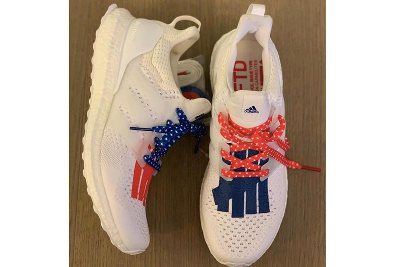 UNDEFEATED x adidas 全新聯名 UltraBOOST「美國獨立日」諜照曝光
