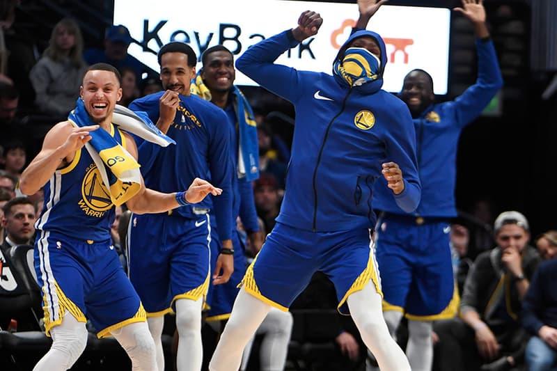 Golden State Warriors 首節豪取 51 分擊敗 Denver Nuggets 重奪西區龙头