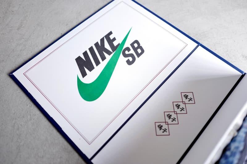近賞 Jeff Staple x Nike SB Dunk Low Pro「Panda Pigeon」特別限定鞋盒