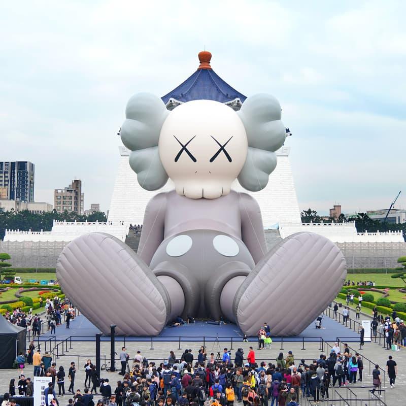 率先直擊 KAWS 全新藝術展覽「KAWS: HOLIDAY」台北站