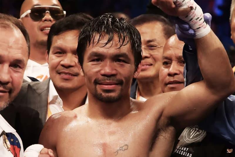 菲律賓拳王 Manny Pacquiao 奪下 WBA 次中量級冠軍腰帶