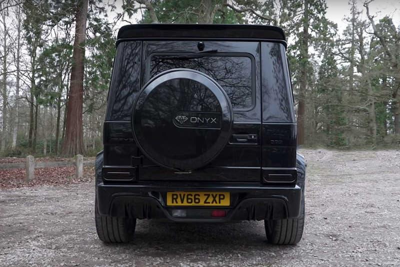 英國車廠打造 Mercedes-AMG G63 全新「Onyx Edition」改裝版本
