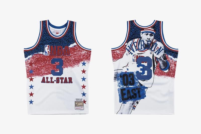 Mitchell & Ness 發佈 NBA 全明星賽別注球衣系列