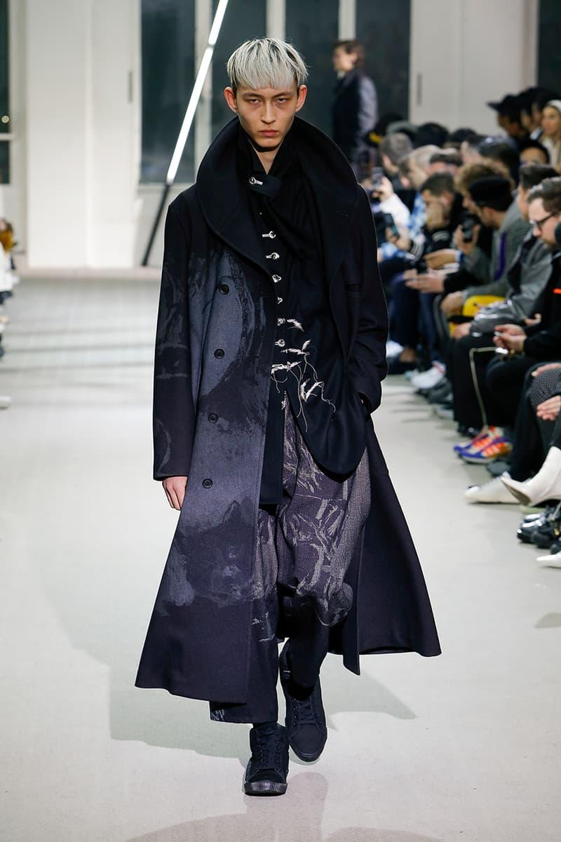 Yohji Yamamoto 發佈 2019 秋冬系列
