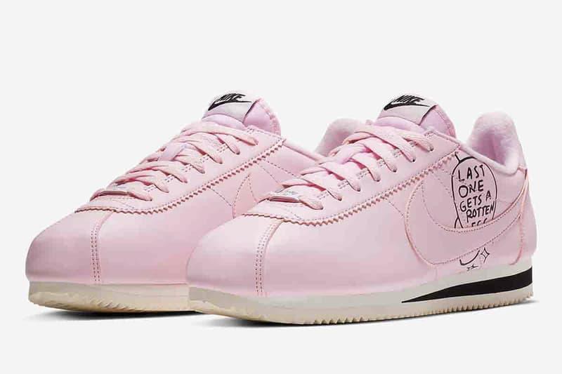 Nathan Bell x Nike Cortez 全新別注手繪鞋款