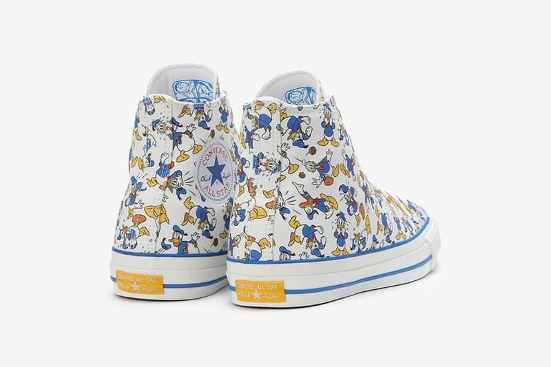 Converse Japan 與 Disney 推出 Donald Duck 系列鞋款