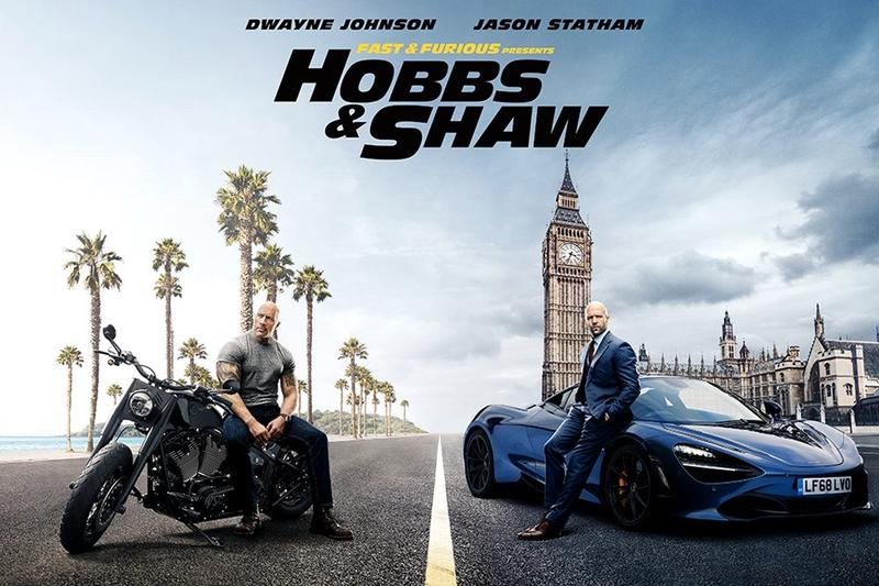 《Fast & Furious》系列衍生電影《Hobbs & Shaw》首波電影海報釋出