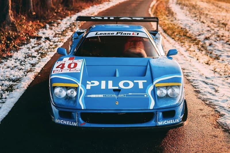 1987 年 Ferrari F40 LM 即將展開拍賣