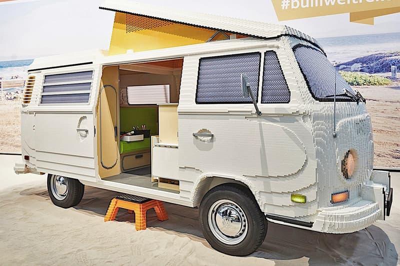 LEGO 大師以積木砌出 1:1 真實比例 Volkswagen T2 經典露營車