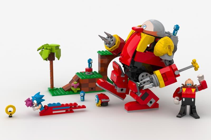 SEGA 愛好者以「超音鼠」為題材向 LEGO Ideas 提交作品