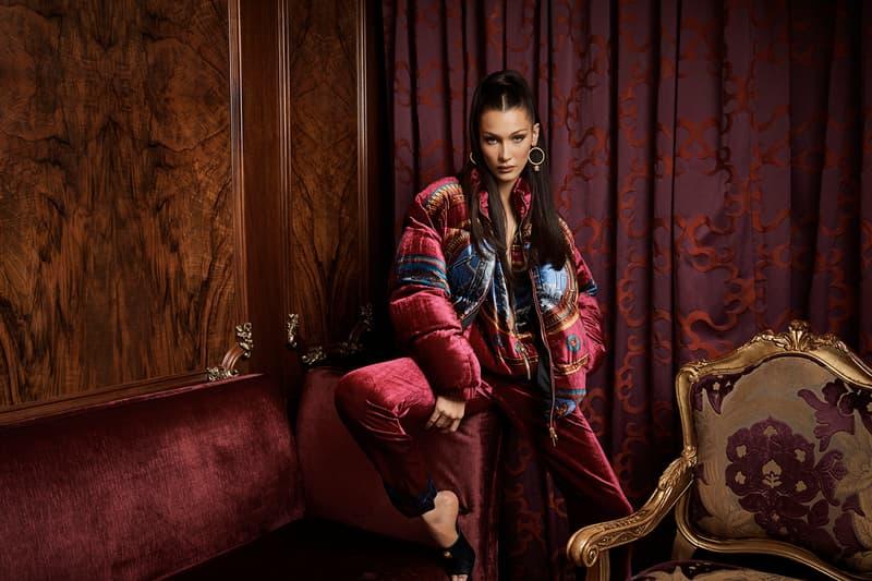 Bella Hadid 演繹 KITH PARK x Versace 跨界聯名系列造型大片