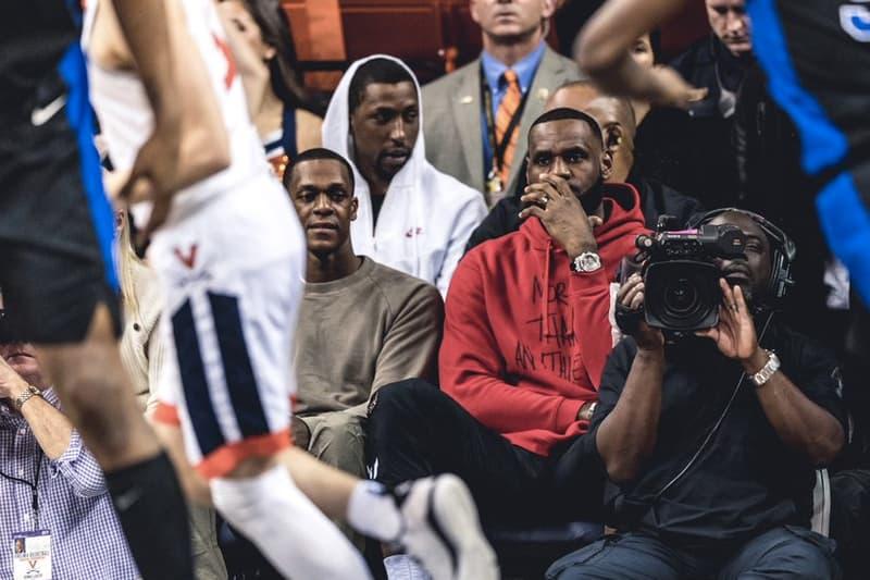 LeBron James 現身 NCAA 比賽現場觀看怪物新人 Zion Williamson