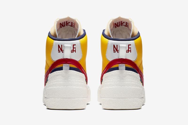 sacai x Nike 全新聯名 Blazer Mid & LDV Waffle 官方圖片釋出