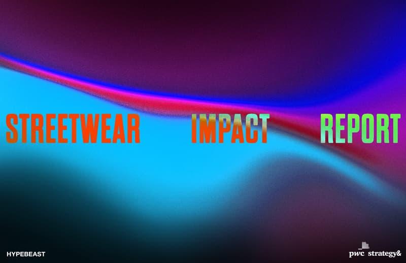 Streetwear Impact Report 街頭時尚影響力報告第三週問卷調研活動開啟