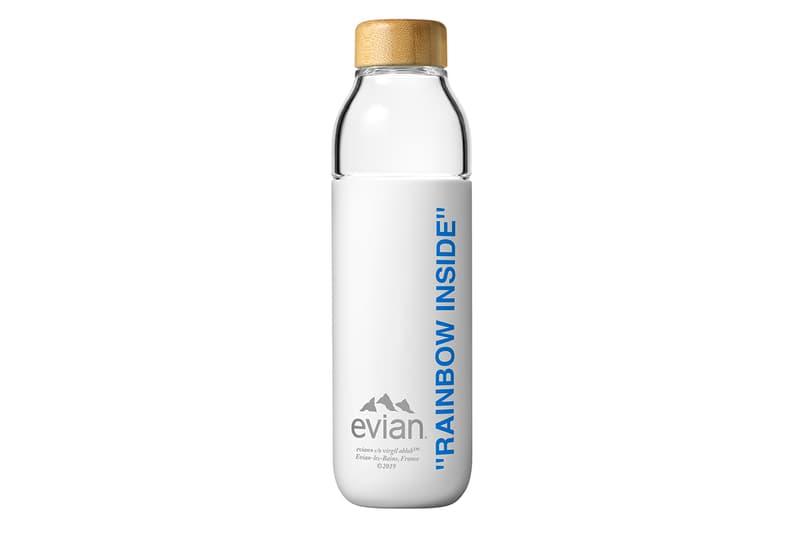Virgil Abloh 與 Evian 推出全新 75cl 限量玻璃瓶身