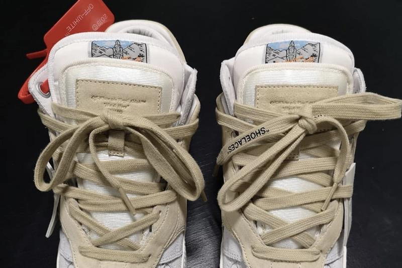 """Virgil Abloh 曝光 Off-White™ 3.0 """"Off-Court Lows"""" 最新鞋款"""