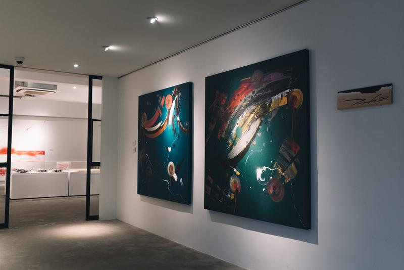 走進傳奇塗鴉藝術家 Futura《Abstract Compass》個人展覽