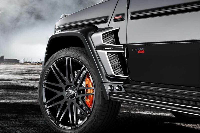 Brabus 打造 G63 全新改裝車型 800 Widestar