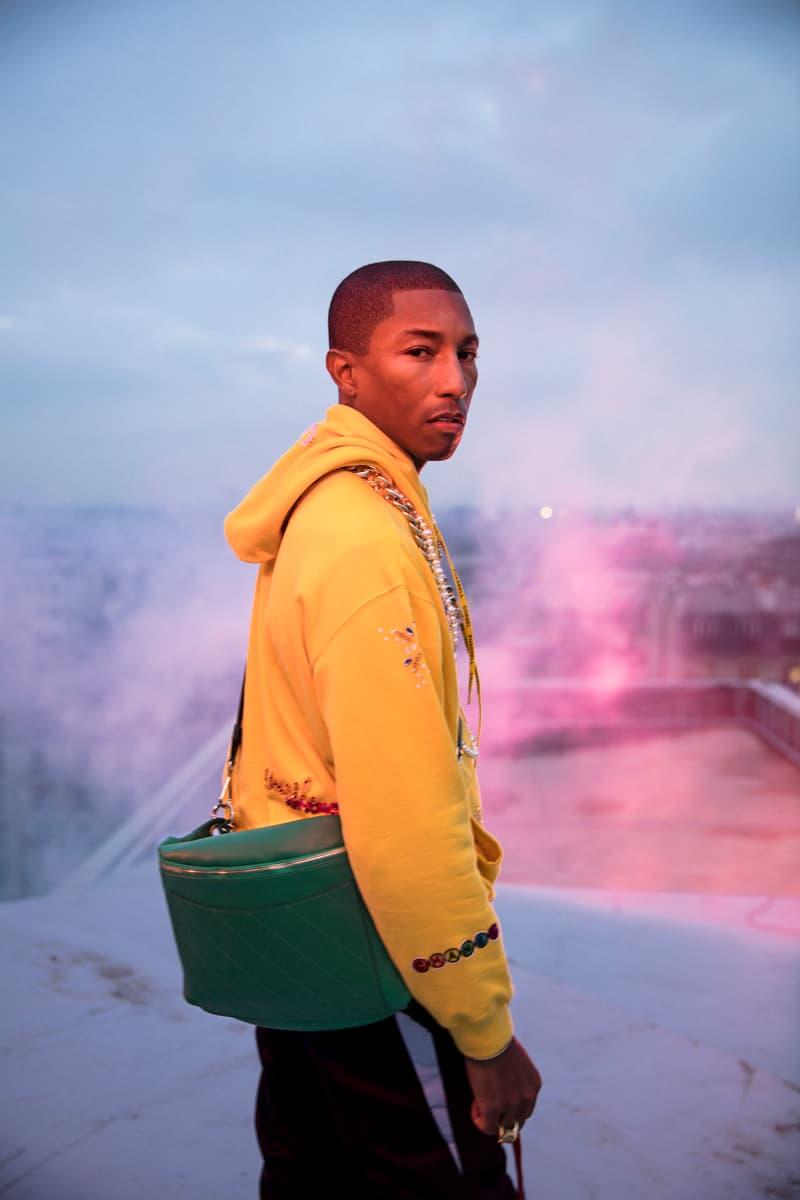 CHANEL x Pharrell 聯名系列正式發佈